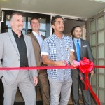 Mezzé Ship & Castle - Opening Ceremony with James Brown, Alex Tryfnos, Scott Murray Ex Bristol City Footballer and Jacob Mundez