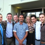 Mezzé Ship & Castle - Opening Ceremony with Jacob Mundez, Alex Tryfonos, James Brown, Scott Murray Ex Bristol City Footballer, Kerensa Kelly, Miltos Moumouris and Mitch Hoare