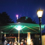 Mezzé Ship & Castle - Opening night in the gardens