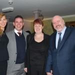 Elizabeth Mawer, Alex Tryfonos, Judy and Dave Lynne