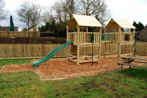 Play Area at The Warwick Arms