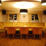 Function room at The Warwick Arms