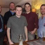 Chris McCormack, Tom Pugsley, James Carter, John Busby and Gareth Elphick