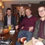 Samantha Clark (Mum's Diary Magazine) Christopher Kingsbury (Mum's Diary), Mike Skidmore, Charlotte Richardson, David Jenkins