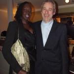 Aluel de Garang and Robert Robert Buckland