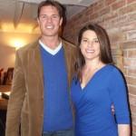 Giles and Rebecca Barnes