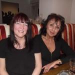 Liz Burton and Tina Batten