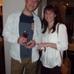 TV presenter, former Housemartins band member Stan Cullimore with Emma Webster